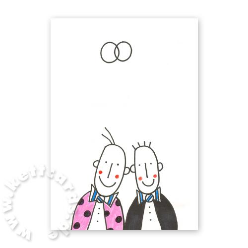 Witzige Hochzeitskarten Fur Manner Franz Basdera Gleich Und Gleich