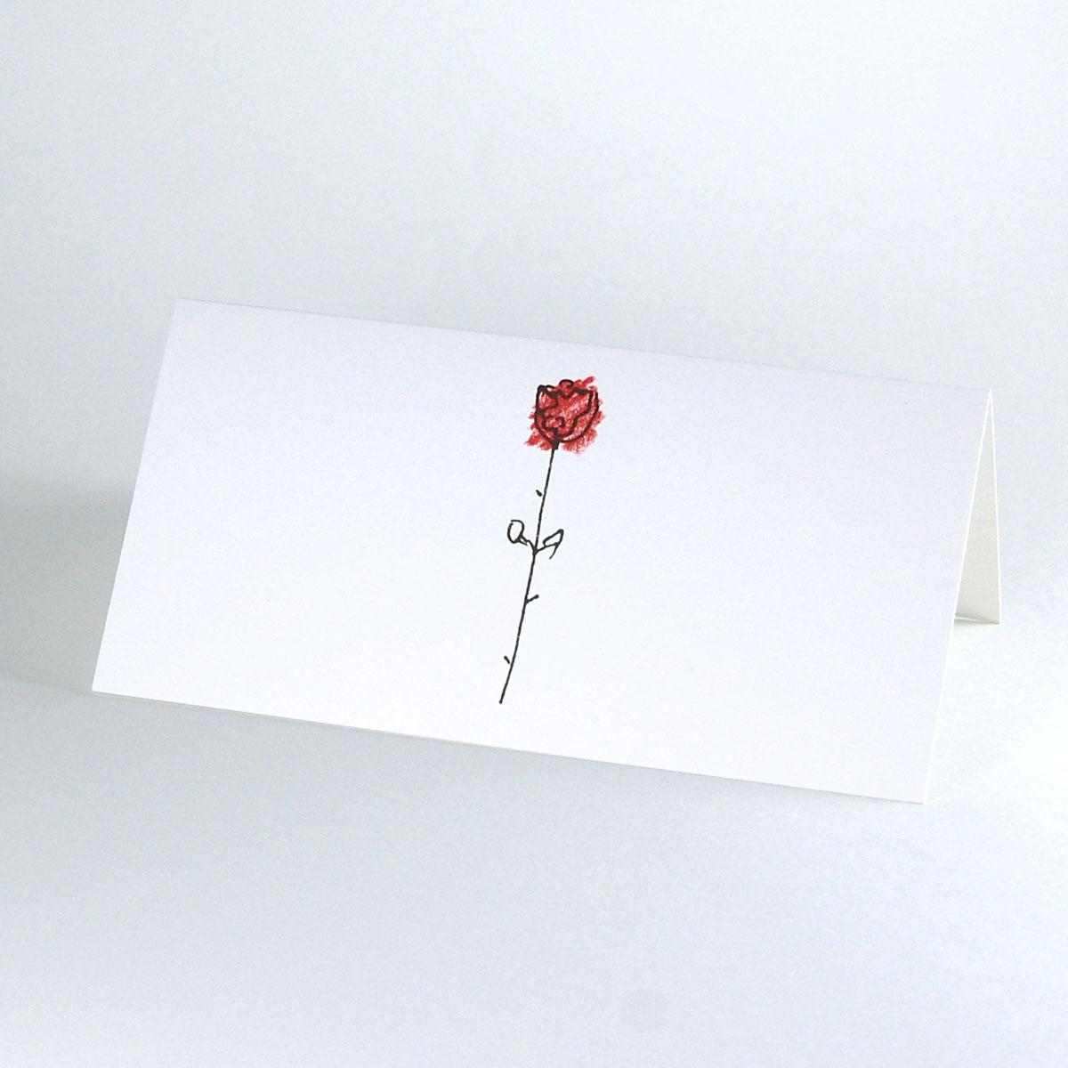 Romantische Hochzeitskarten Grit May Wolff Rose