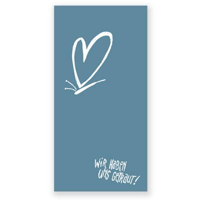 Hochzeitskarten Michael Bulgrin Wir Haben Uns Getraut
