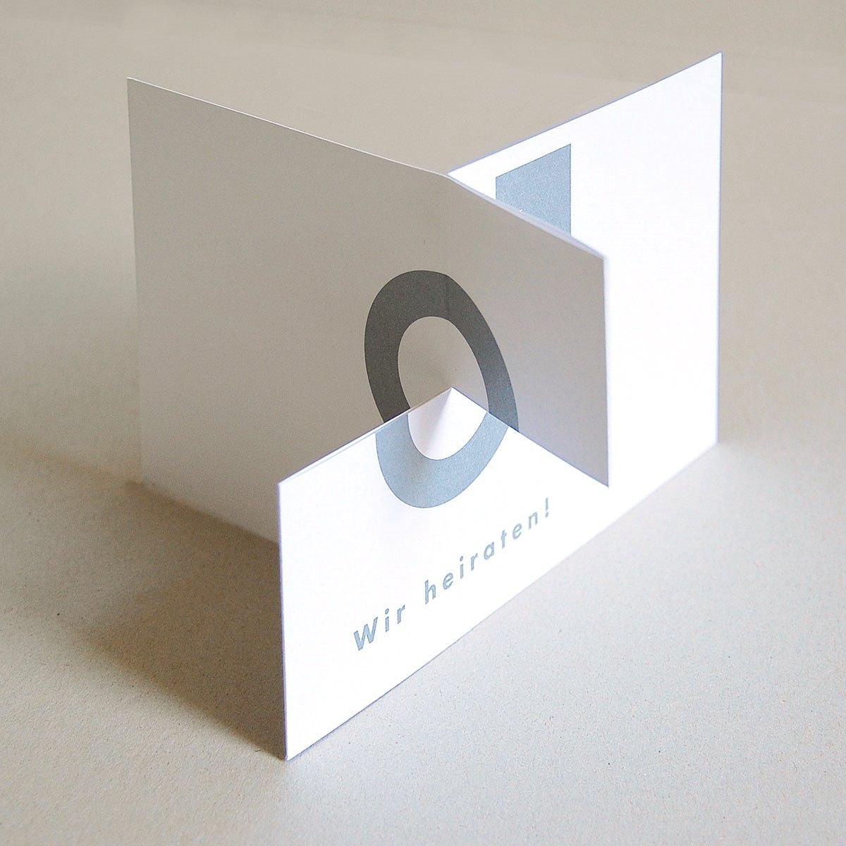 Ungewohnliche Hochzeitskarten Michael Marschall Wir Heiraten