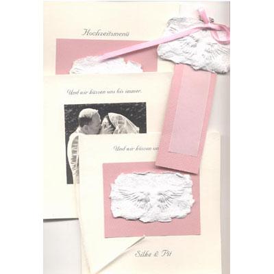 Hochzeitskarten Handgemacht Komplettes Set Aus Einladungskarten