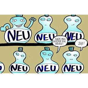 Neu comic cartoon