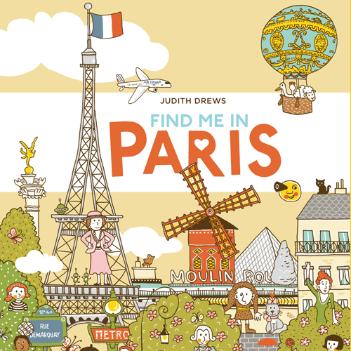 Find me in Paris, Illustrationen