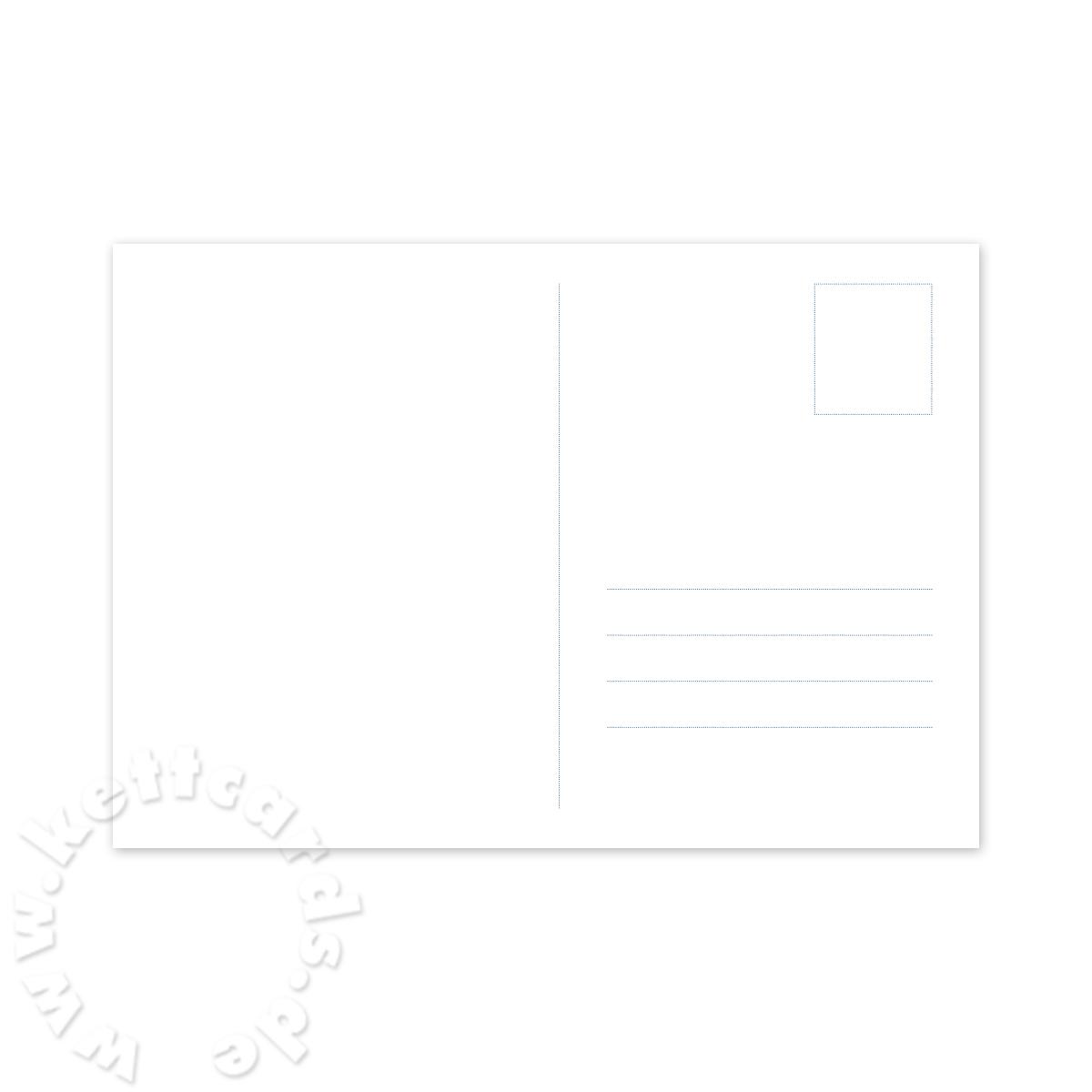 Hochwei e blanko postkarten mit druck briefmarkenfeld - Blanko postkarten ...