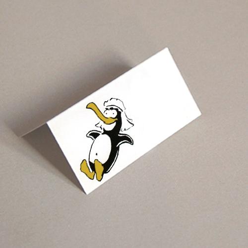 g nstige tischkarten f r die hochzeitsdeko pinguinbraut. Black Bedroom Furniture Sets. Home Design Ideas