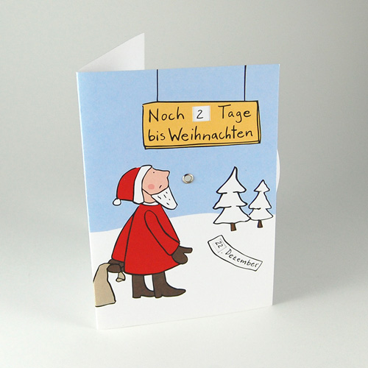 Wie Viel Tage Bis Weihnachten : adventskarten mit drehscheibe noch tage bis weihnachten ~ Watch28wear.com Haus und Dekorationen