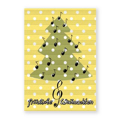 Frohe Weihnachten Musik.Weihnachtskarten Bianca Schaalburg Fröhliche Weihnachten