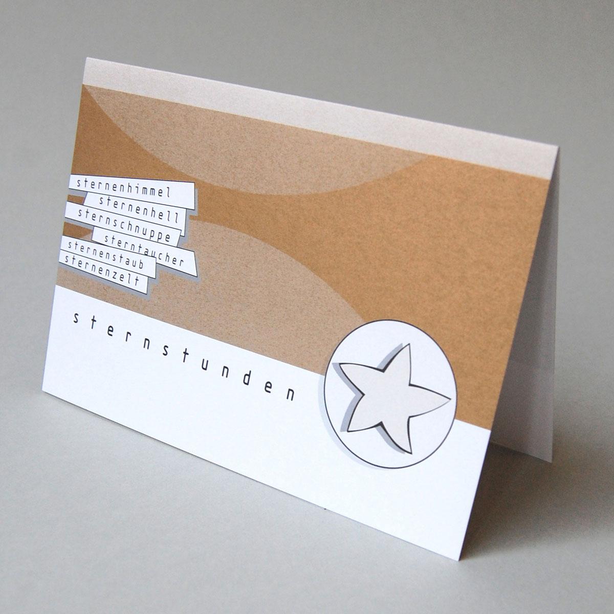 Designer Weihnachtskarten De.Goldene Designer Weihnachtskarten Sternstunden