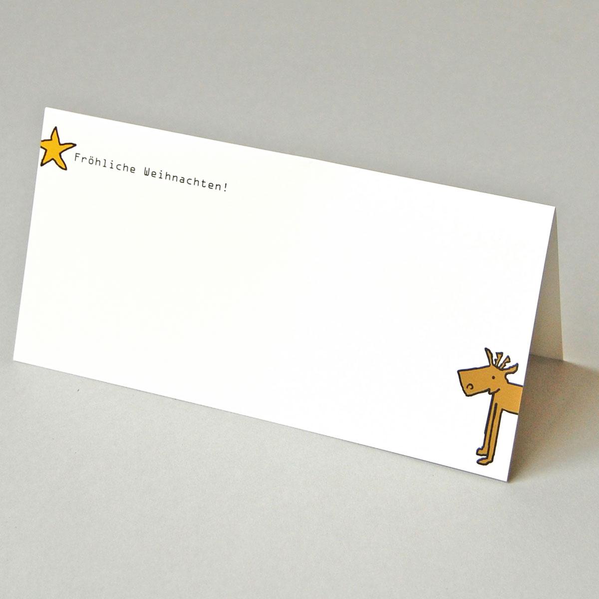 Foto Weihnachtskarten Bestellen.Designer Weihnachtskarten Bestellen Elch Und Stern