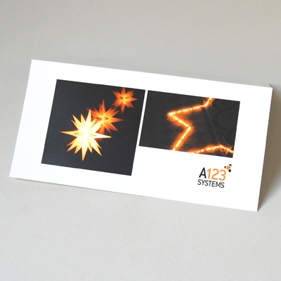 Individuelle weihnachtskarten mit eingepasstem firmenlogo for Weihnachtskarten mit firmenlogo