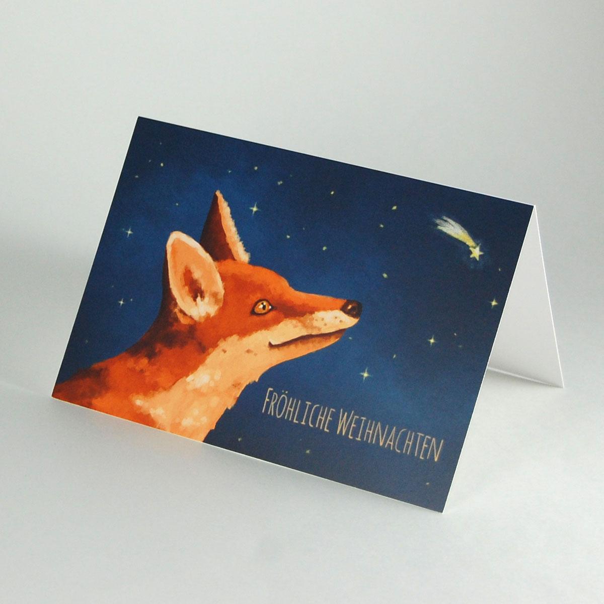 Gemalte Weihnachtskarten.Gemalte Weihnachtskarten Meike Teichmann Merry Christmas