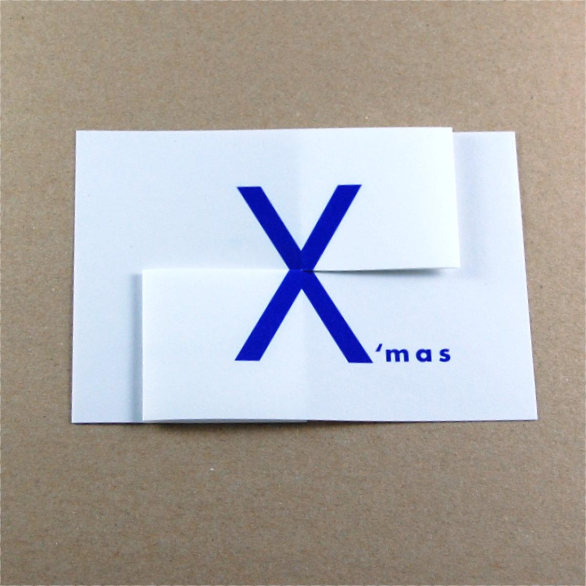 Internationale designer weihnachtskarten merry x mas - Interaktive weihnachtskarte ...