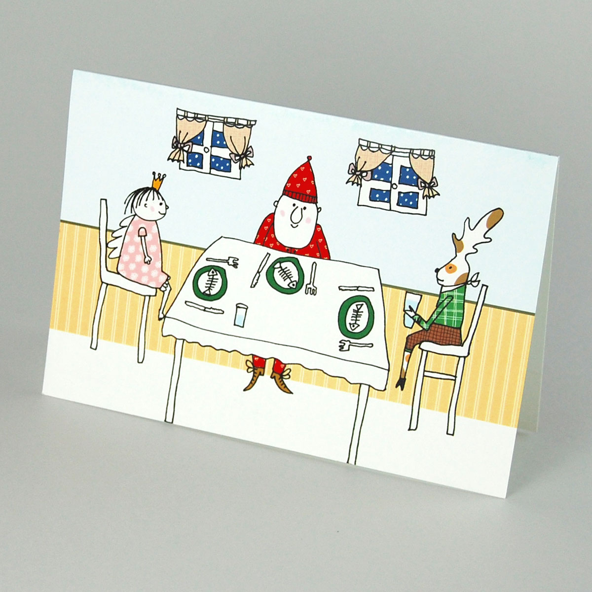 Lustige Bilder Weihnachtsessen.Lustige Weihnachtskarten Weihnachtsessen
