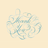 Thank you, Handlettering